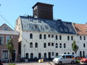 Restauratie voormalig pakhuis 't kalf te Harlingen