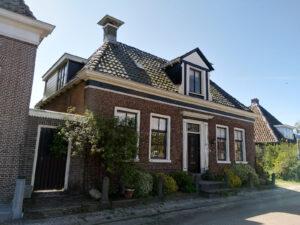Onderhoud en restauratie woning Oosterzee (Friesland)
