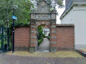 Groot onderhoud Hofje vrouwengasthuis Franeker